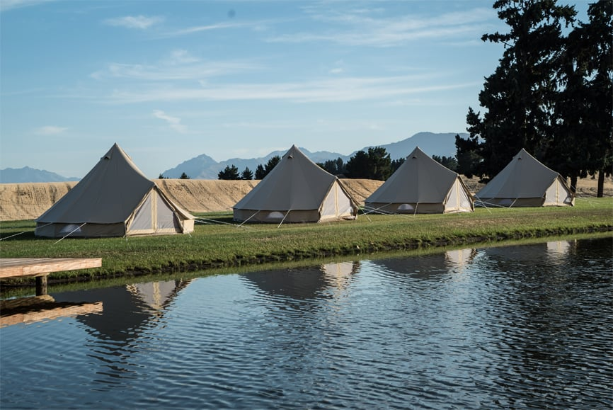 Explorelife glamping by the river {Event Planning}