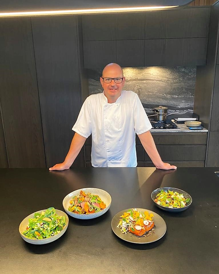 Ben Batterbury chef from munch catering Event Planning NZ